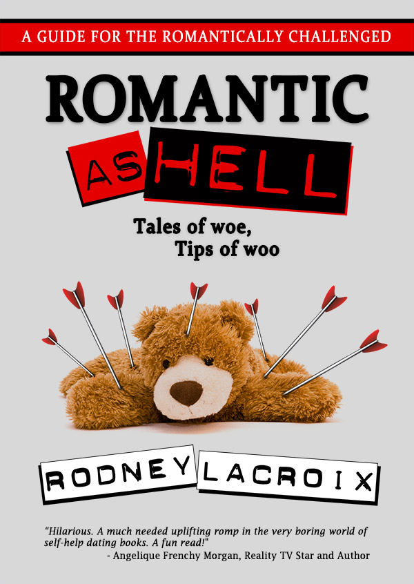 My final cover reveal for Romantic as Hell!